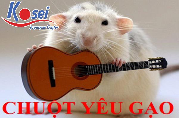 Học tiếng Nhật qua bài hát Chuột yêu gạo