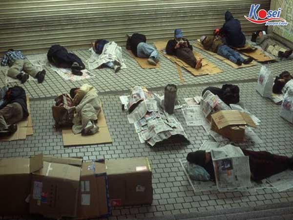 Bất ngờ với 1 hạt sạn trong xã hội: người vô gia cư ở Nhật Bản