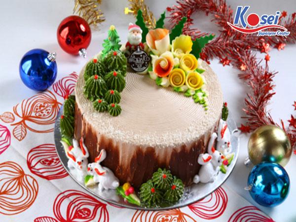 món ăn nhật dịp giáng sinh