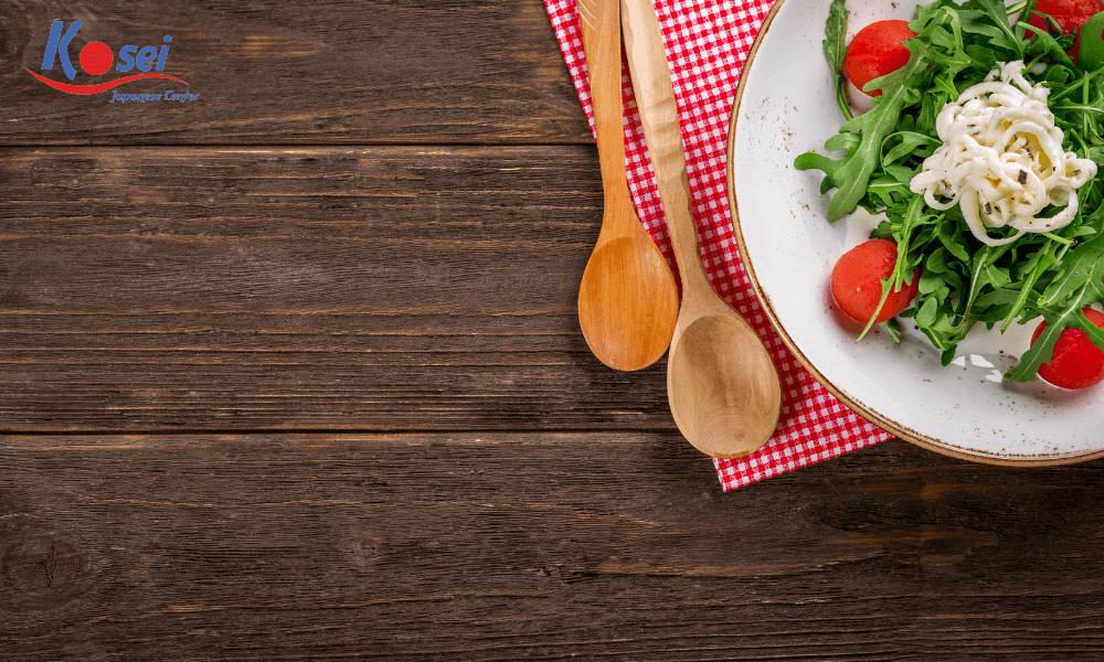 Từ vựng tiếng Nhật về các nguyên liệu chế biến món ăn