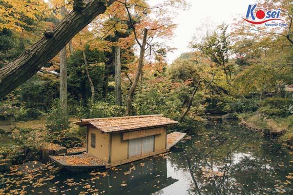 khu vườn đẹp ngỡ ngàng tại Tokyo