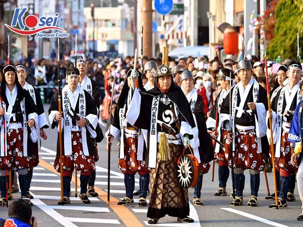 Lễ hội tháng 12 ở Nhật Bản - Ako Gishi sai tôn vinh anh hùng Edo.