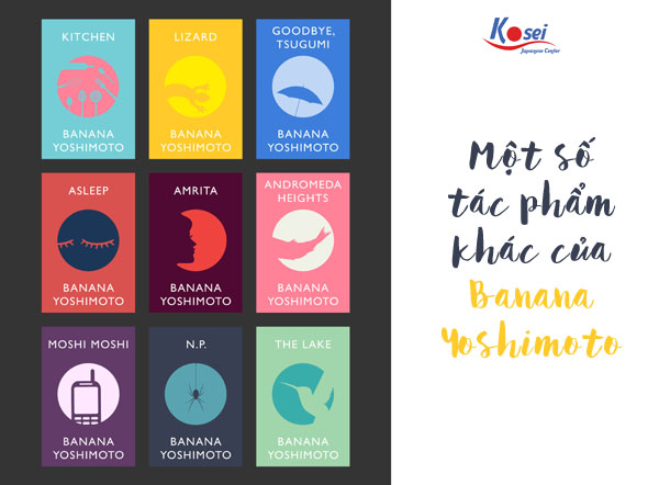tác phẩm văn học Kitchen - Banana Yoshimoto