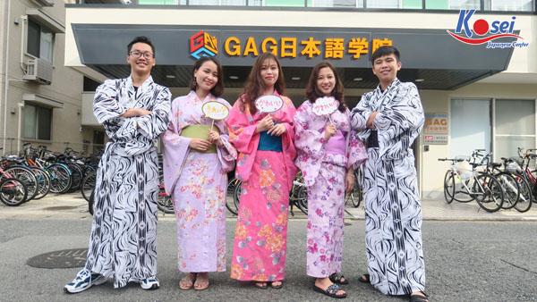 Học viện Nhật ngữ GAG - Đạt mục tiêu của chính mình!