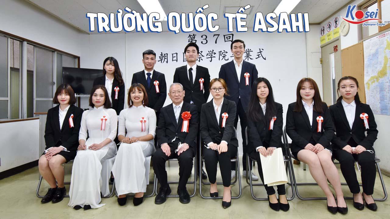 Trường Quốc tế Asahi - Tiếp thu ngôn ngữ chính xác và thực tế