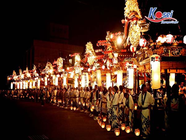 lễ hội nhật bản tháng 12 Chichibu Yomatsuri
