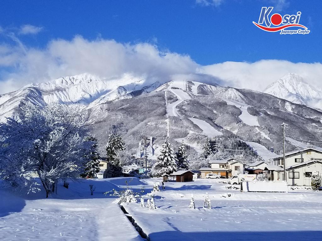 địa điểm trượt tuyết nổi tiếng ở Nhật Bản
