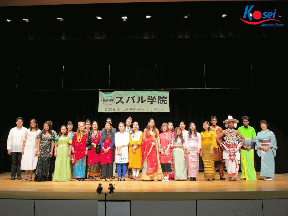 học viện ngoại ngữ Subaru