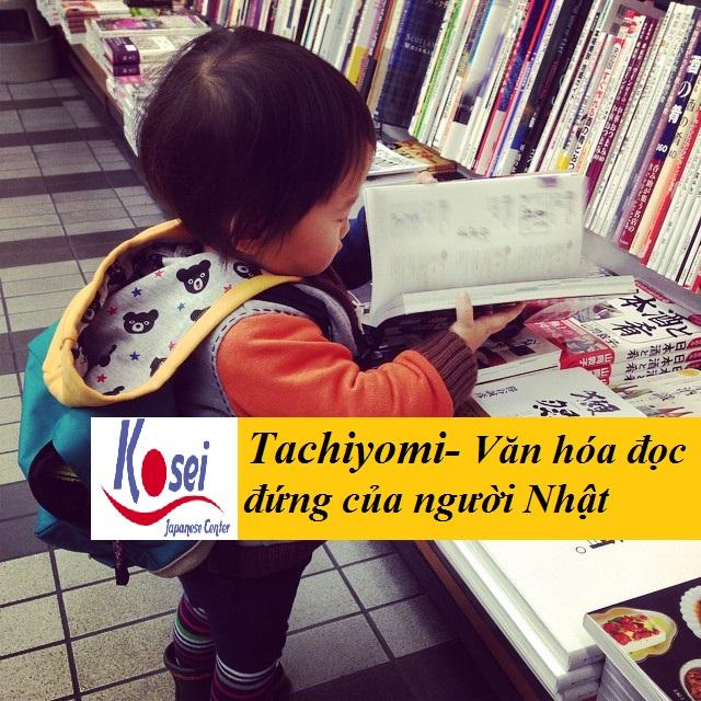 Tachiyomi- Văn hóa đọc đứng của người Nhật