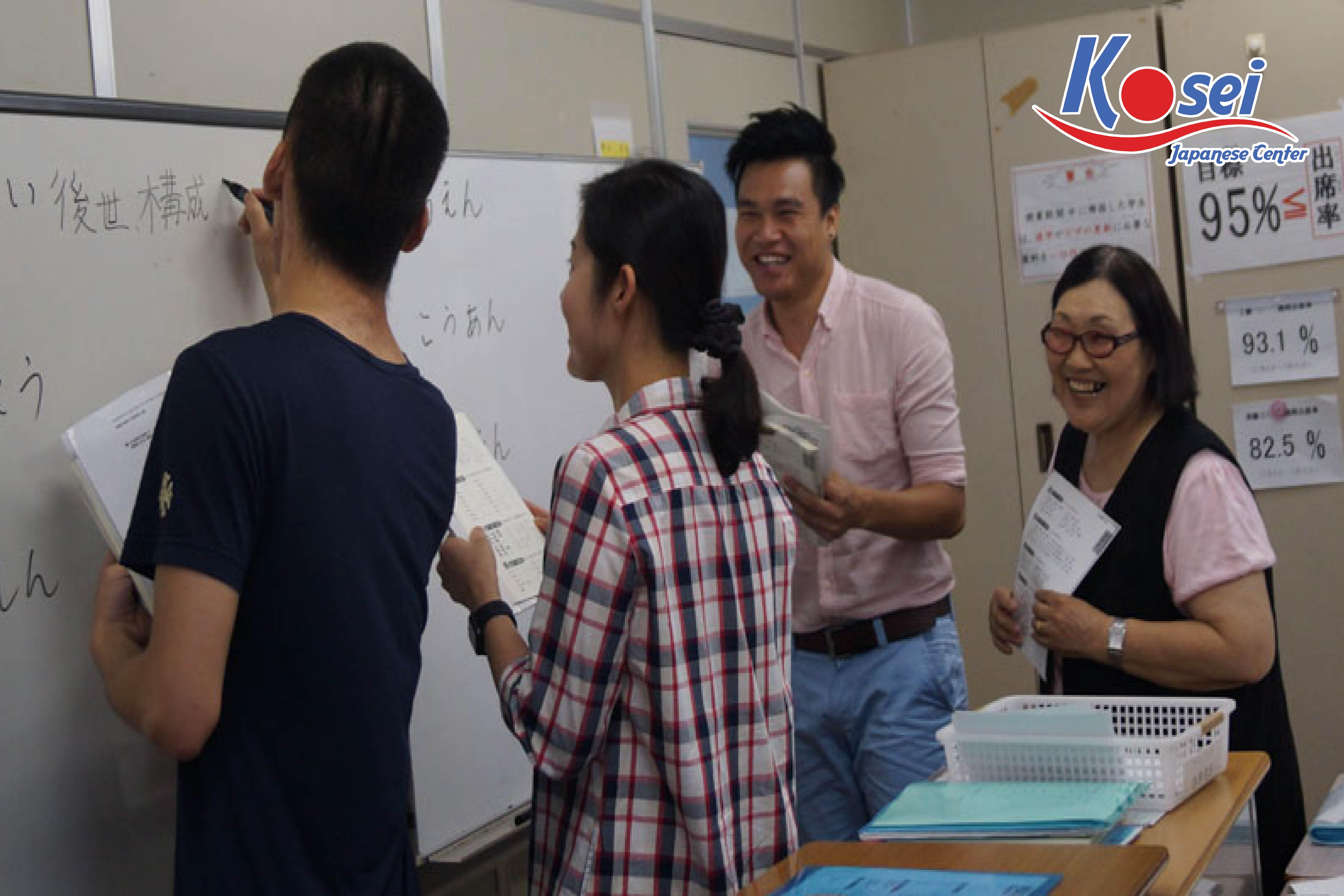 Hình 3: Khóa học tiếng Nhật cơ bản