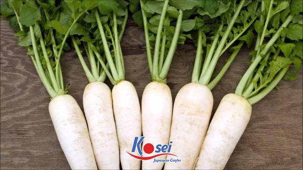 3 từ lóng Tiếng Nhật thú vị liên quan đến 大根 - cây củ cải