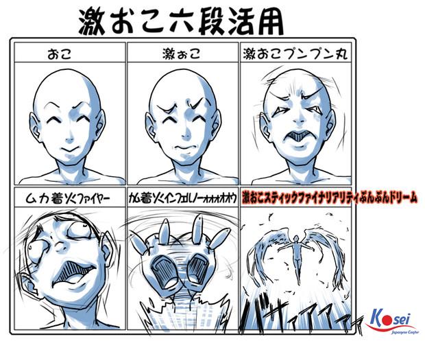 4 từ lóng: 逆ギレ, giận quá mất khôn!-  từ vựng tiếng Nhật N2