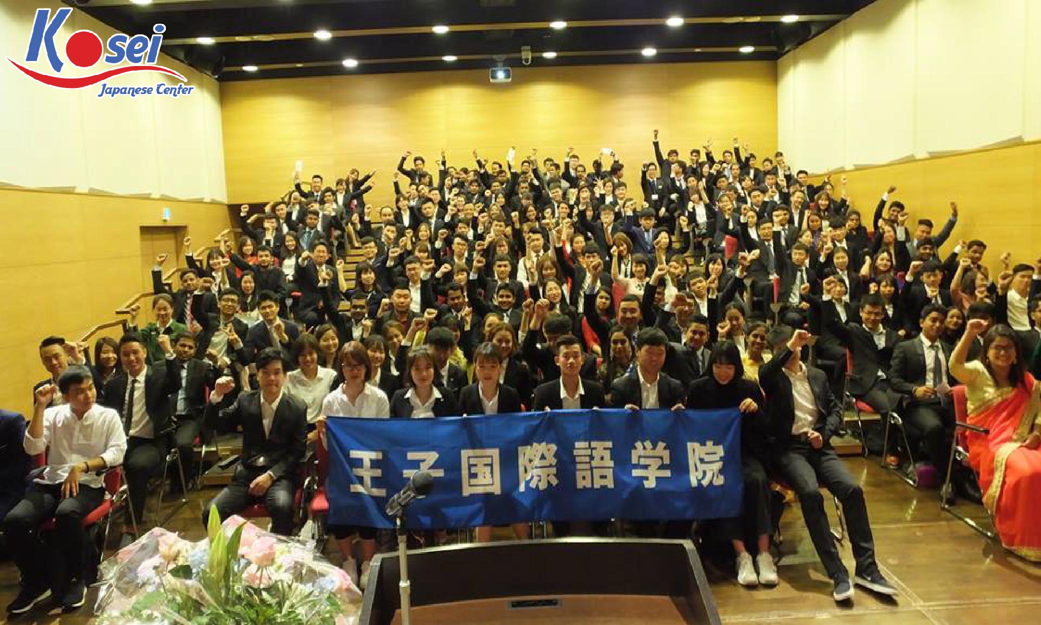 DÀNH cho du học sinh Việt Nam-Trường ngôn ngữ quốc tế Oji ở Nhật Bản