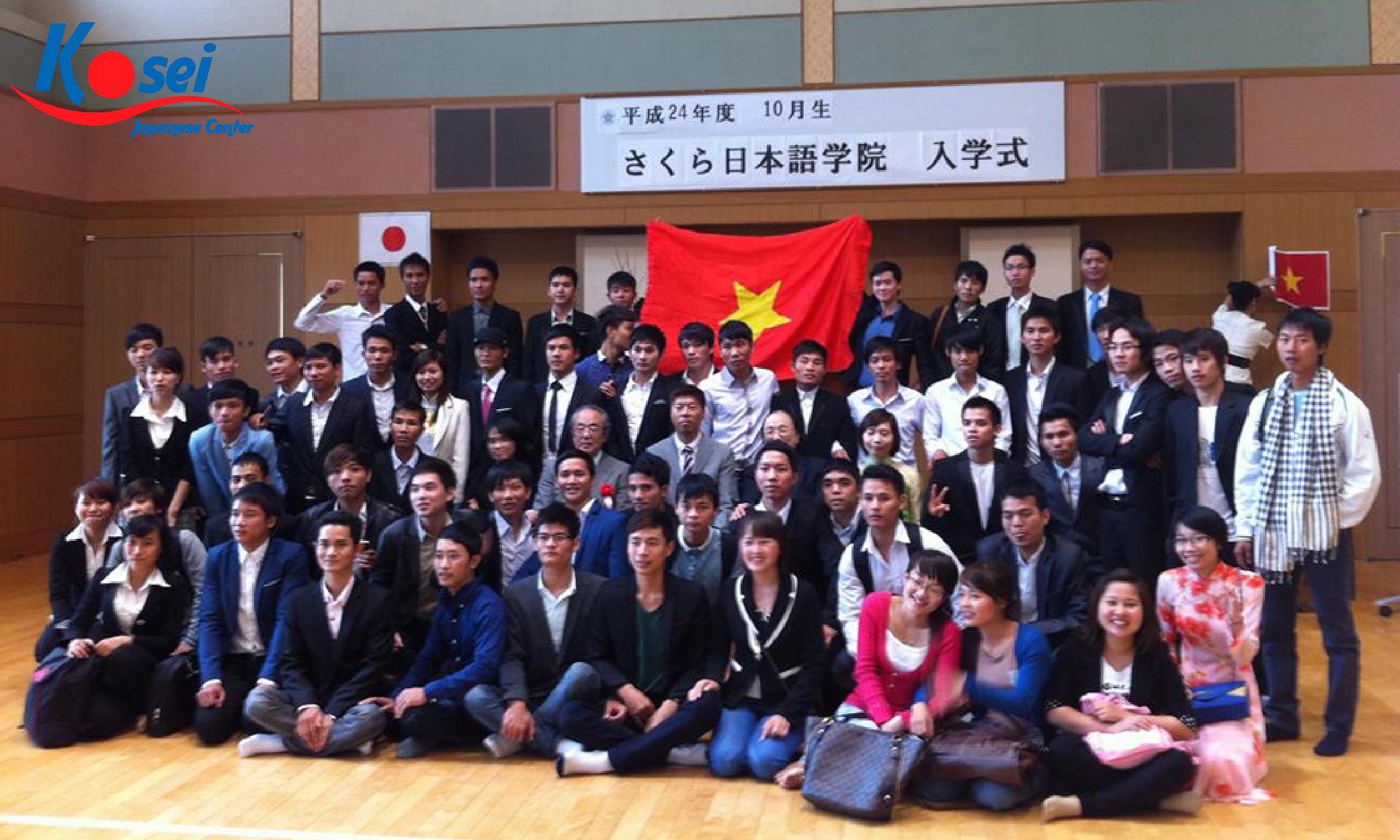 Thông tin trường học viện Nhật ngữ Sakura Nhật Bản chi tiết nhất