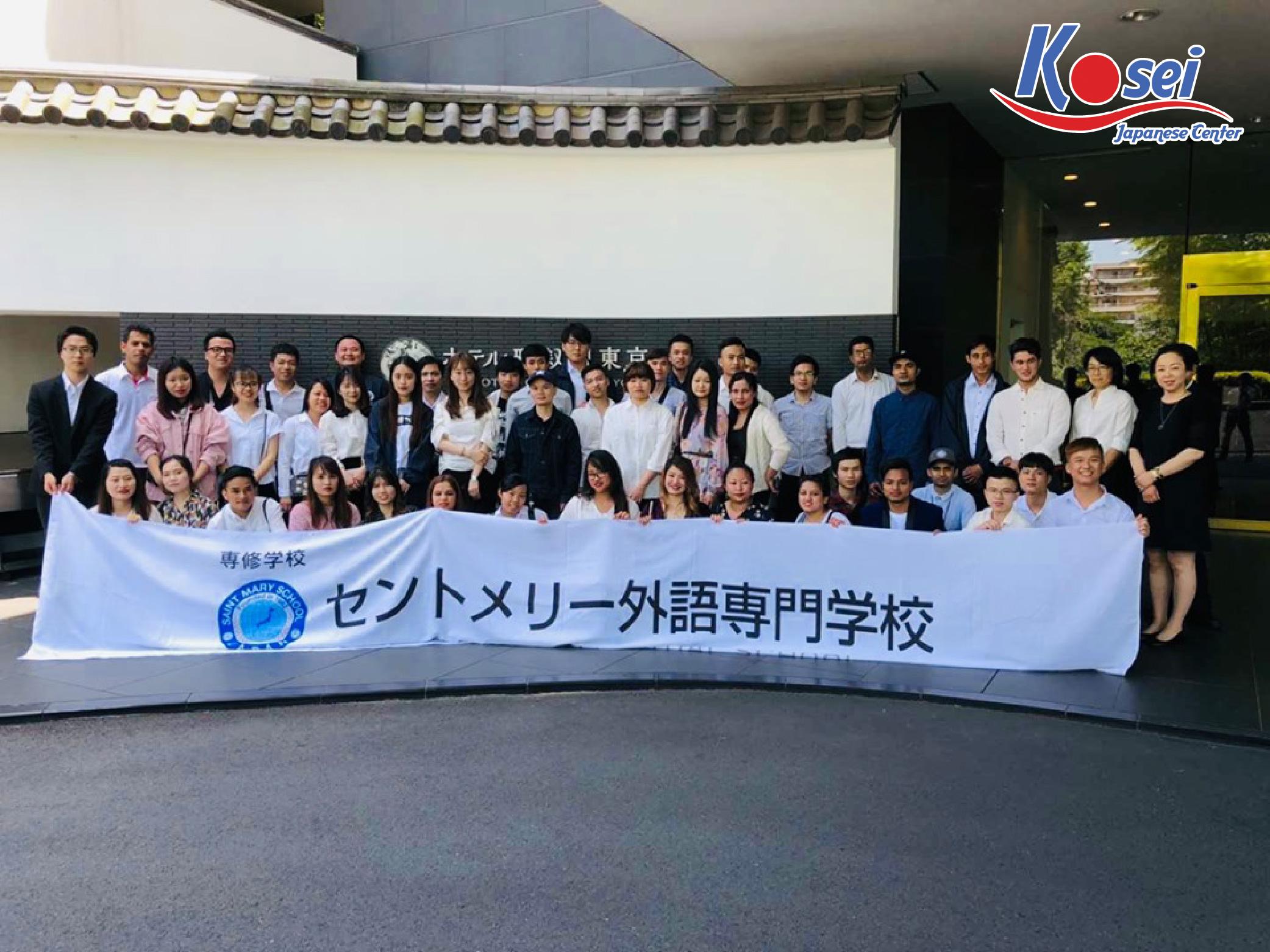 Khám phá TrườngNhật ngữnổi tiếng ST. Mary cho du học sinh Việt Nam