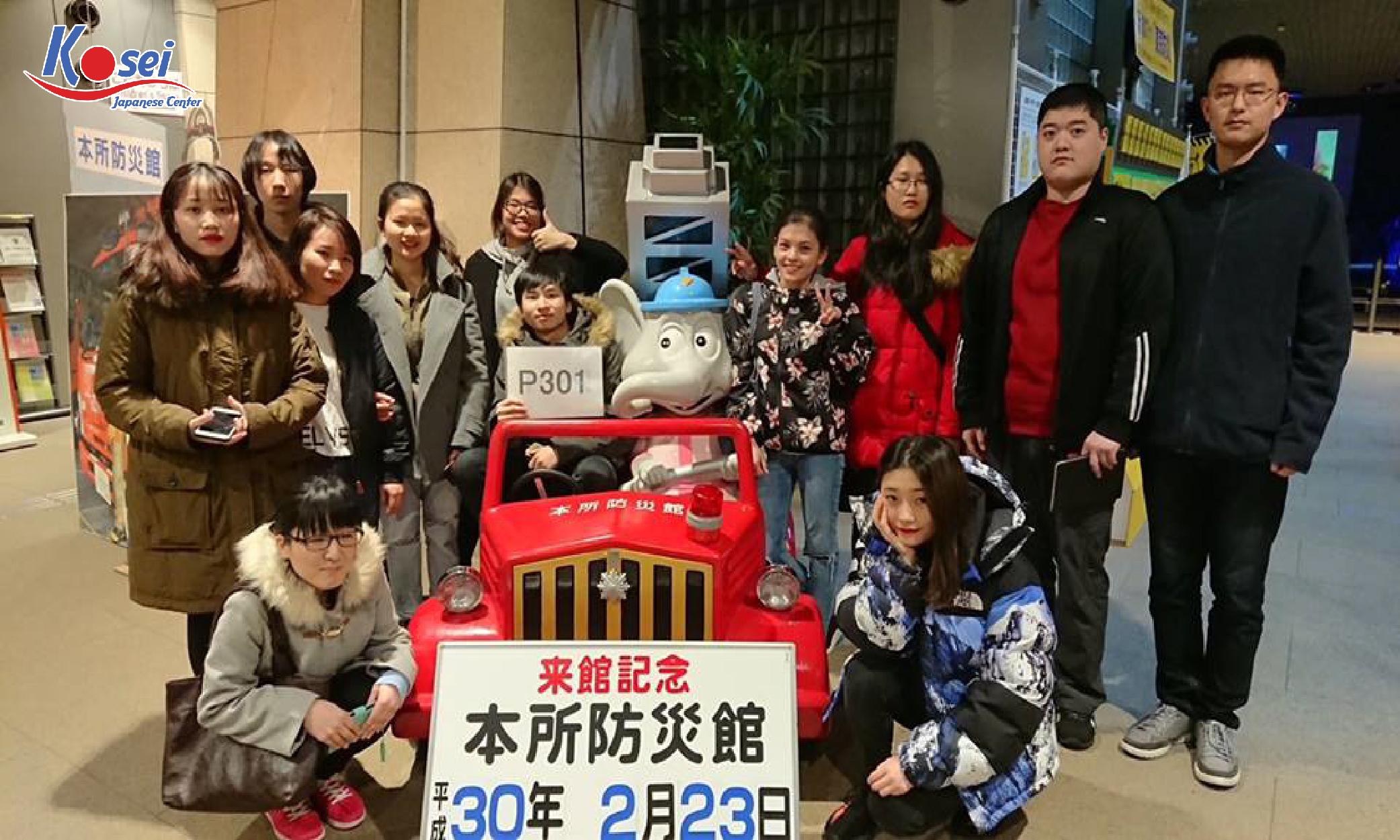 Tham quan trường học viện giáo dục quốc tế CANAAN tại Nhật Bản