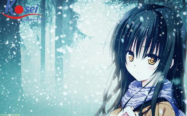 Học tiếng Nhật qua truyện cổ tích: 雪女(ゆきおんな) – Cô gái tuyết
