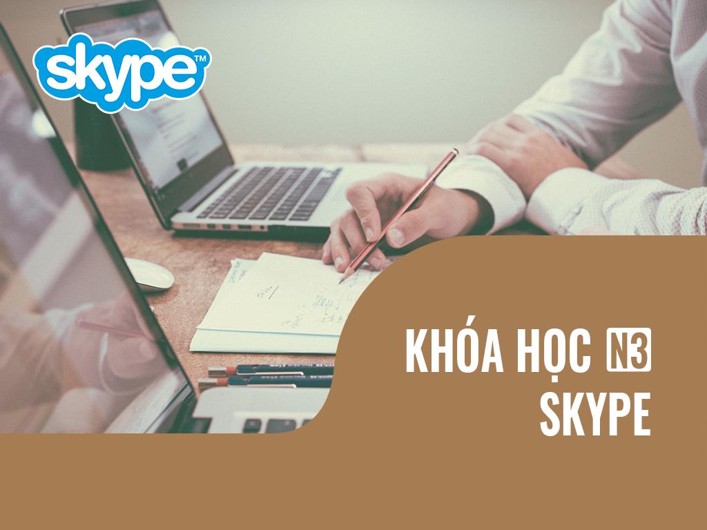 Khóa học N3 Online qua Skype