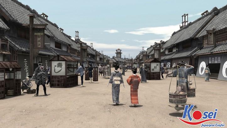 Văn hóa thời kỳ Edo, văn hóa nhật bản thời edo, thành edo, tướng quân đầu tiên của mạc phủ edo, edo là tên gọi cũ của thành phố nào