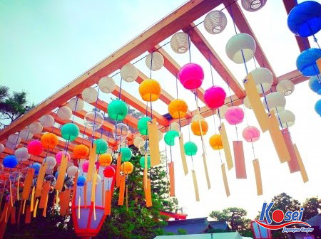 Lễ hội chuông gió Nhật Bản - Sợi dây kết nối nhân duyên