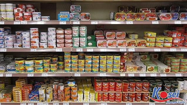 đồ hộp nhật bản, đồ ăn đóng hộp Nhật Bản, cá đóng hộp Nhật Bản, thịt hộp của Nhật, cá mòi đóng hộp Nhật Bản
