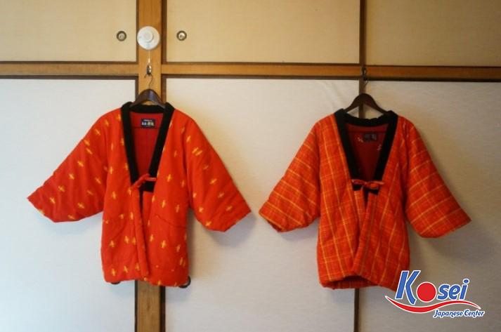 Khám phá phong cách văn hoá qua áo Hanten của Nhật Bản