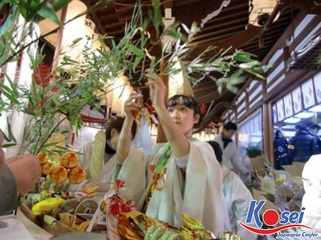 Cành tre Fukusasa - Biểu tượng của sự may mắn ở Nhật Bản