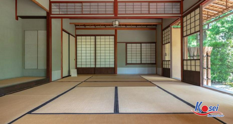 chiếu tatami nhật bản, chiếu tatami của nhật, chiếu cói xuất nhật tatami