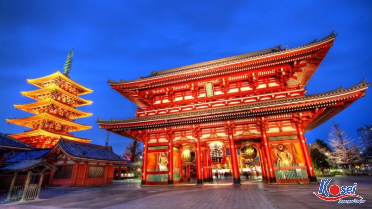 chùa asakusa nhật bản, chùa asakusa