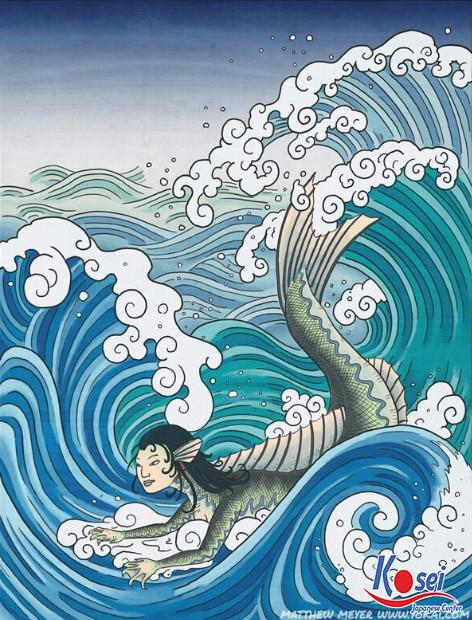 Học tiếng Nhật qua truyện cổ tích Bí mật của nàng tiên cá