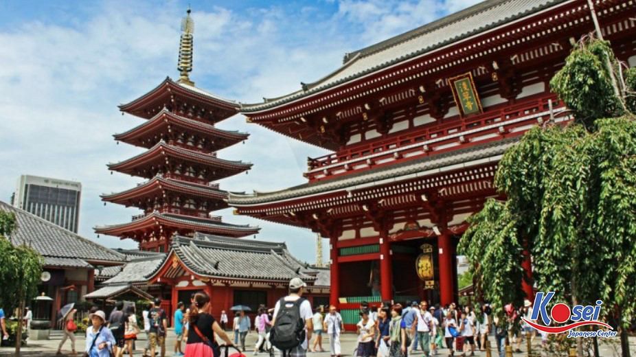 lễ chùa hatsumode nhật bản