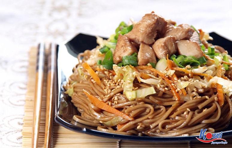 Mì xào Yakisoba Nhật Bản - Món ăn đậm hương vị Nhật