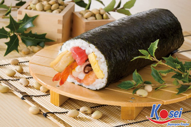 Những điều thú vị về sushi cuộn dài Ehomaki