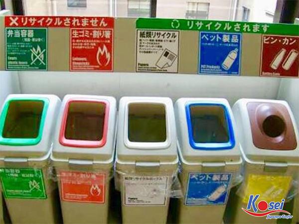 Thế nào là tem vứt rác ở Nhật? Mua ở đâu?