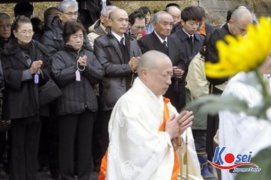 Nghi thức văn hoá đám tang ở Nhật Bản