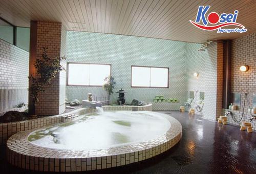 Kinh ngạc với văn hóa tắm chung お風呂  ở Nhật Bản