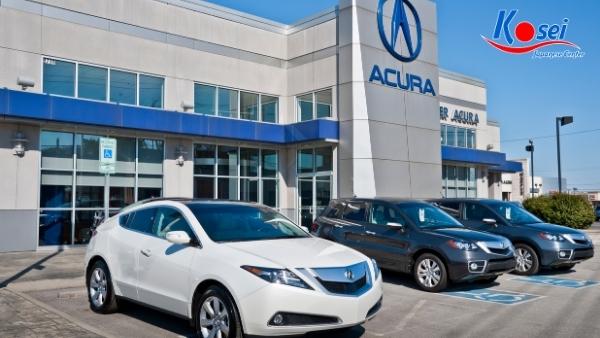các hãng xe nổi tiếng Nhật Bản - Acura