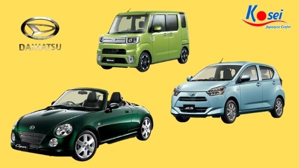 các hãng xe nổi tiếng Nhật Bản - Daihatsu