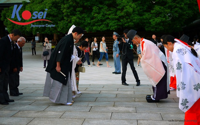 Các kiểu cúi chào ở Nhật