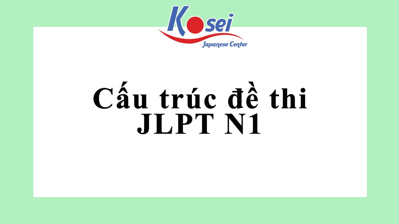 Cấu trúc đề thi JLPT N1