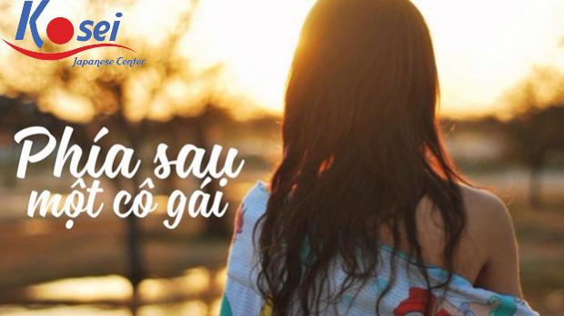 Học tiếng Nhật qua bài hát: Phía sau một cô gái - 彼女の後ろ