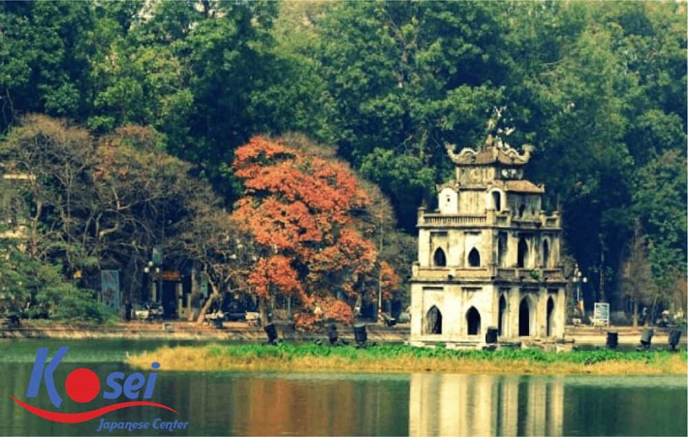 Học từ vựng tiếng Nhật theo chủ đề một số địa danh nổi tiếng ở Hà Nội (phần 1)