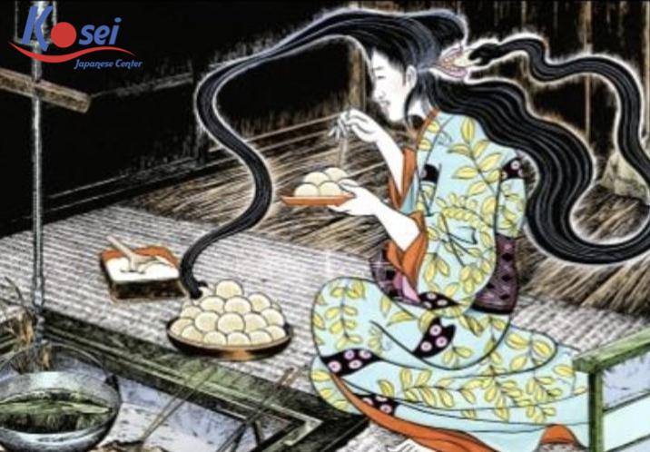 Học tiếng Nhật qua truyện cổ tích: Người vợ không cần ăn cơm (phần 1)