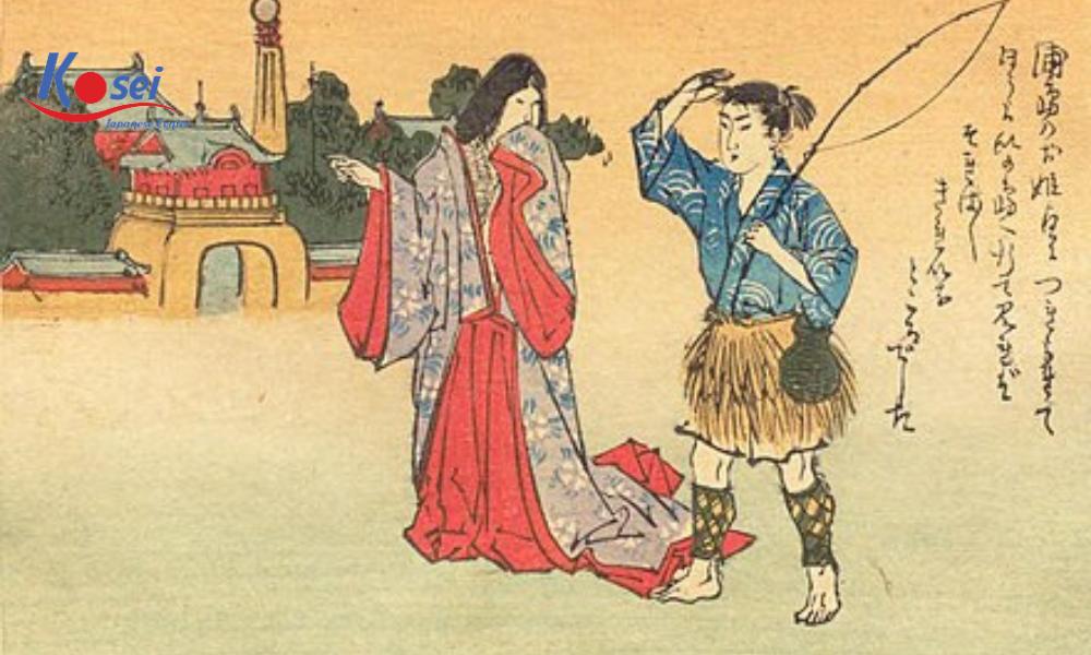 Học tiếng Nhật qua chuyện cổ tích Chàng Urashima Taro (Phần II)