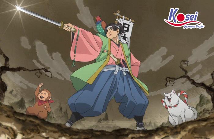 Học tiếng Nhật qua truyện cổ tích: Momotarou cậu bé quả đào