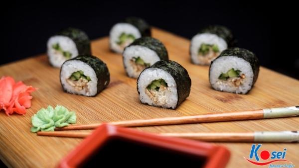 kiến thức về sushi hosomaki