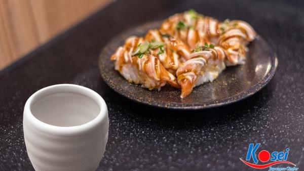 kiến thức về sushi Narezushi