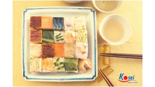 kiến thức về Sushi Oshizushi