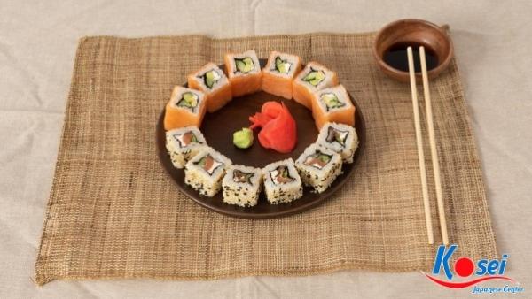 kiến thức về sushi uramaki