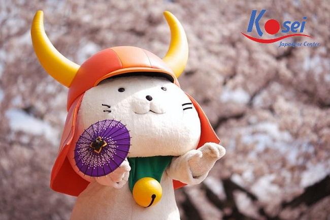 Nhật Bản – đất nước của các linh vật